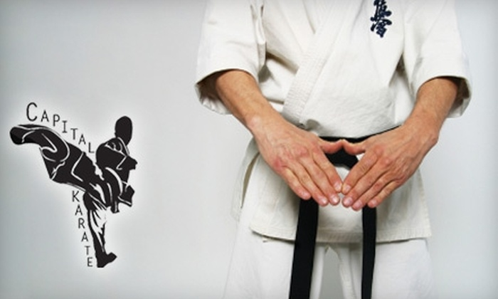 Capital Karate - Central Rosewood: $40 for One Unlimited Month of Classes and Uniform at Capital Karate