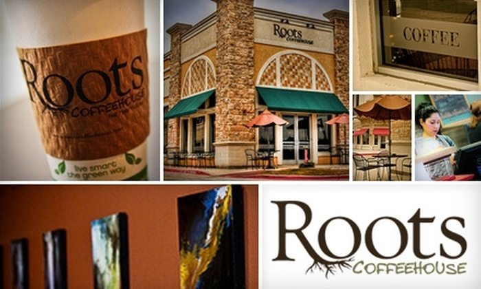 Roots Coffeehouse - North Richland Hills: $5 for $10 Worth of Artisanal Beverages and Fresh Fare at Roots Coffeehouse