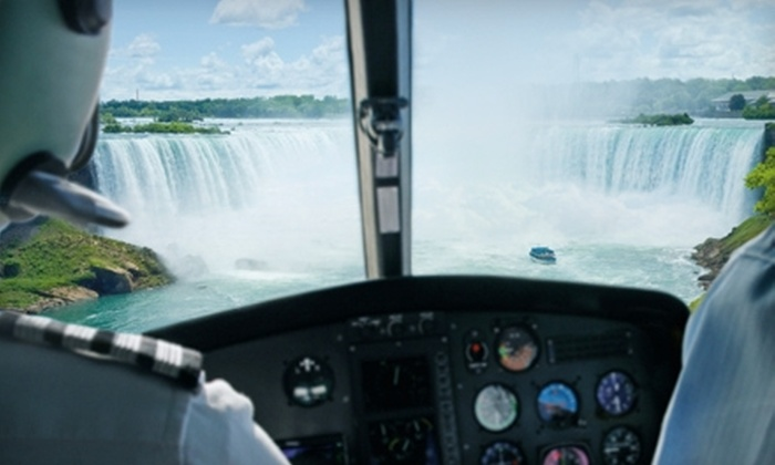 National Helicopters, Inc. - Niagara On The Lake: $99 for Helicopter Tour from National Helicopters Inc. (Up to $168.37 Value)