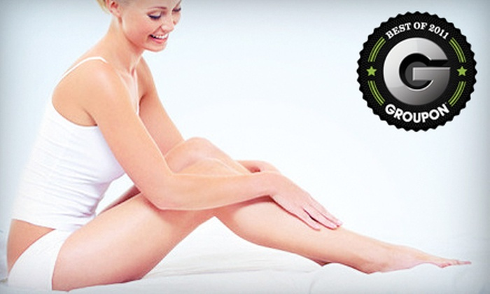 Silky Skin Laser & Esthetics Centre - Multiple Locations: $99 for Three Laser Hair-Removal Treatments at Silky Skin Laser & Esthetics Centre (Up to $525 Value)