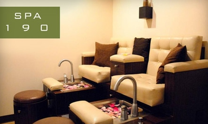 Spa 190 in Mineola - Mineola: $30 for a Spa-Deluxe Manicure and Pedicure at Spa 190 in Mineola ($60 Value)