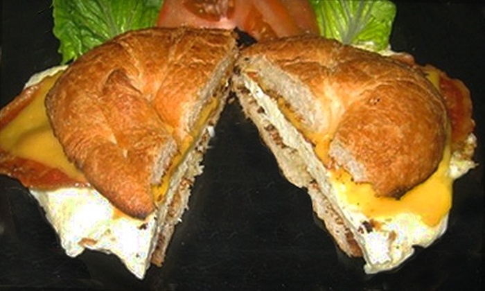 The Breakroom Cafe - Metairie: $4 for $8 Worth of Breakfast or Lunch Fare at The Breakroom Cafe in Metairie