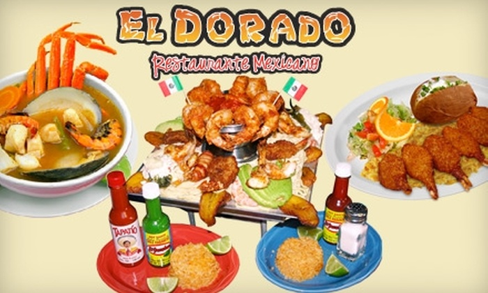 El Dorado - CPL Inc: $10 for $20 Worth of Authentic Mexican Eats and Drinks at El Dorado