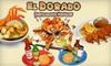 El Dorado - CPL Inc: $10 for $20 Worth of Authentic Mexican Eats and Drinks at El Dorado