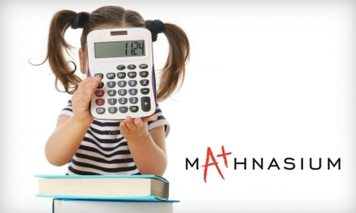 Mathnasium - Multiple Locations: $50 for One Month of Unlimited Math Tutoring at Mathnasium (Up to $259 Value). Choose from Three Locations.