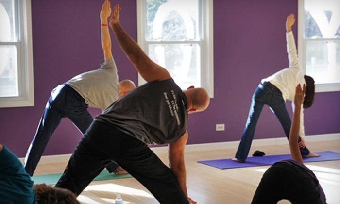 Abhyaasa Yoga - Downtown Naperville: $9 Toward Yoga Classes
