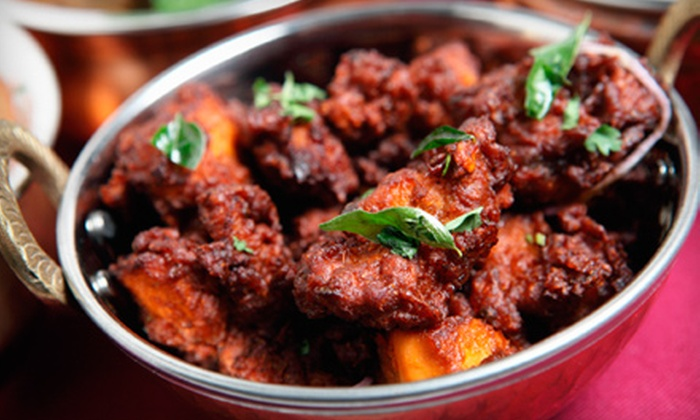 Saffron Indian Cusine - County Line Coalition: Indian Fare for Dinner or Lunch at Saffron Indian Cuisine (Half Off)