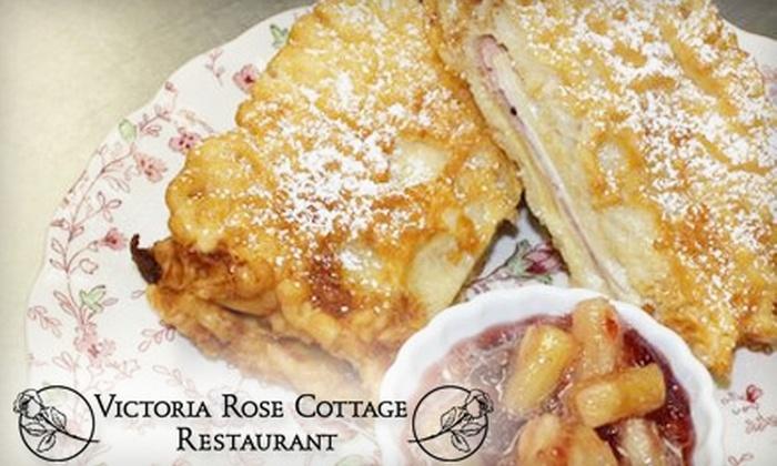 Victoria Rose Cottage - Downtown Clovis: $10 for $25 Worth of Lunch Fare and Tea at Victoria Rose Cottage