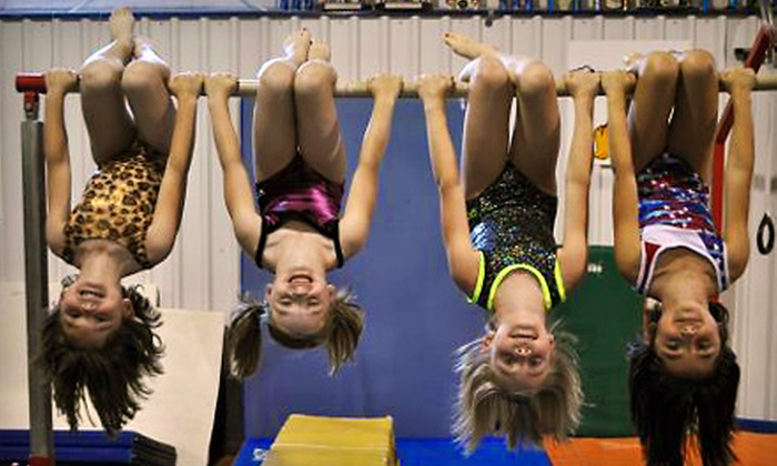 Maximum Athletic Center - Multiple Locations: $35 for One Month of Weekly Kids' Gymnastics Classes at Maximum Athletic Center (Up to $72 Value)