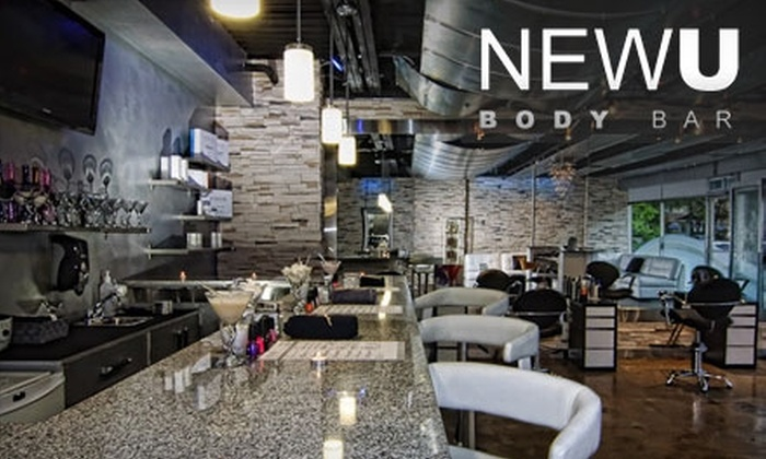 NewU Body Bar - Byward Market - Parliament Hill: $77 for a Pedicure, Massage, and Facial Spa Package from NewU Body Bar ($165 Value)