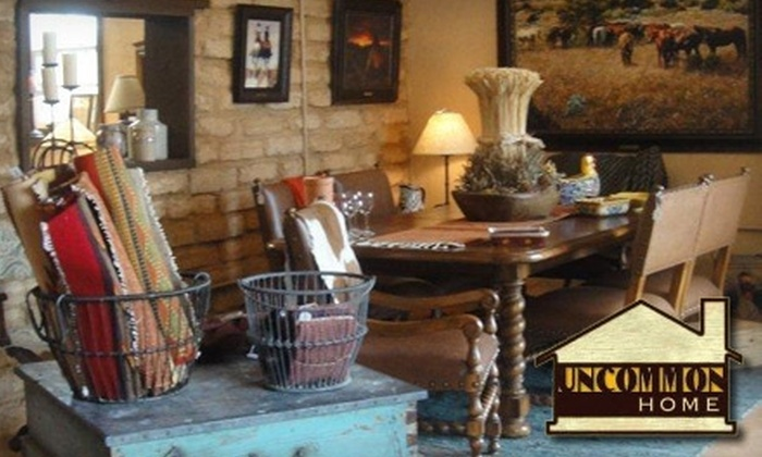 Uncommon Home - Comal North: $25 for $50 Worth of Hill-Country Antiques at Uncommon Home in Spring Branch