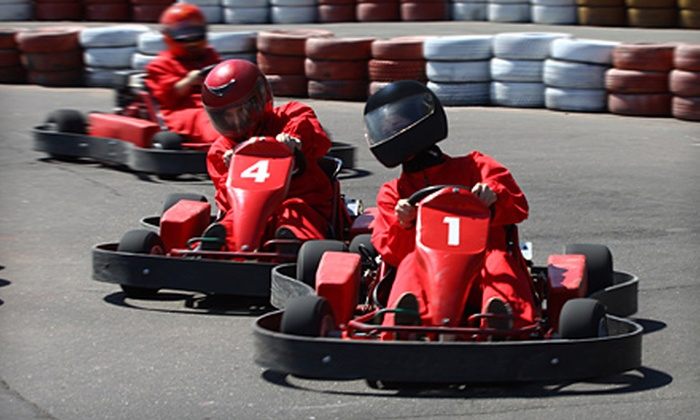 401 Mini-Indy - The Elms: $21 for 40 Indoor Go-Kart Laps at 401 Mini-Indy (Up to $56.60 Value)