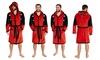 Men's Deadpool Dressing Gown