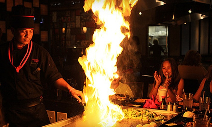 Fuji Japanese Steak & Sushi - Falling Water - Browntown: Japanese Fare for Lunch or Dinner at Fuji Japanese Steak & Sushi (Up to 53% Off)