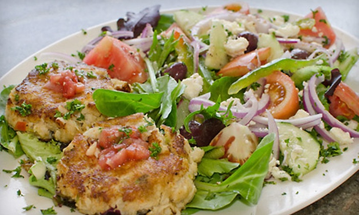 Anglins Beach Cafe - East Fort Lauderdale: $20 for $40 Worth of Seafood and Drink at Anglins Beach café in Lauderdale-By-the-Sea