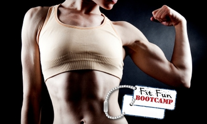 Fit Fun Bootcamps - Multiple Locations: $69 for One Month of Unlimited Classes and a 21-Day Eating Program at Fit Fun Bootcamps ($199 Value)