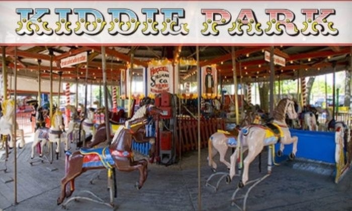 Kiddie Park San Antonio - Mahncke Park: $24 for Four Unlimited-Ride Bands at Kiddie Park ($48 Value)