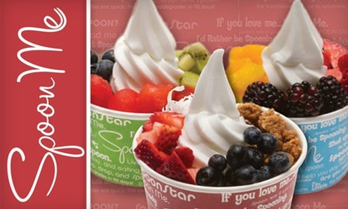 Spoon Me - Meridian: $5 for $10 Worth of Frozen Yogurt and More at Spoon Me