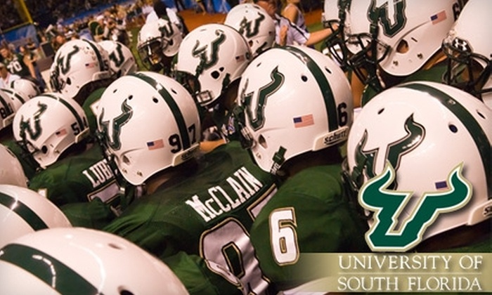 University of South Florida Football - Multiple Locations: Single-Game or Season Tickets to USF Football. Three Options Available.