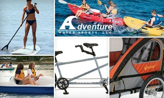 Up to 53% Off Rentals at Adventure Water Sports. Choose from Six Two-Hour Equipment-Rental Packages.
