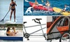 Adventure Water Sports, LLC - Mission Bay Park: Up to 53% Off Rentals at Adventure Water Sports. Choose from Six Two-Hour Equipment-Rental Packages.