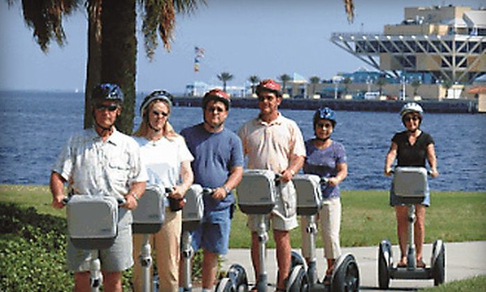 All About Fun Tours - St. Petersburg: 60- or 90-Minute Waterfront Segway Tour from All About Fun Tours in St. Petersburg (Up to 51% Off)