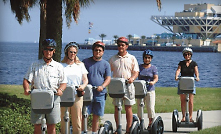 60-Minute Segway Tour Along the Waterfront of Downtown St. Petersburg on a Sunday (a $35 value) - All About Fun Tours in St. Petersburg