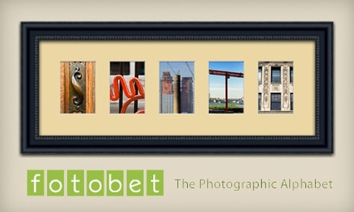 Fotobet: $50 for $100 Worth of Personalized Photographic Art from Fotobet