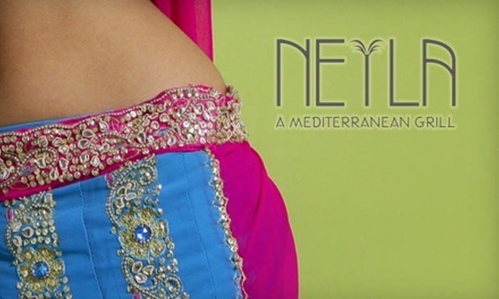Neyla Mediterranean Grill - Georgetown: $60 for Three Belly-Dancing Class Passes and Mediterranean Eats at Neyla Mediterranean Grill ($120 Value)