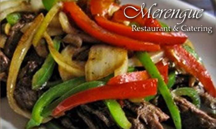 Merengue - Roxbury: $15 for $30 Worth of Dominican Cuisine at Merengue