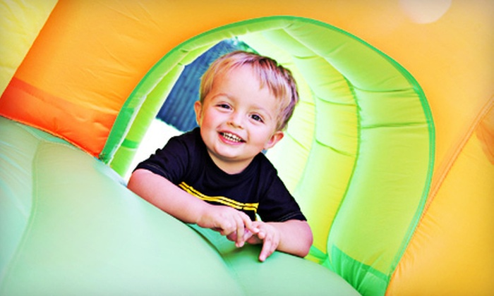 Concord Bounce - Elkhart: Bounce Session for Two or Four, Five Bounce Sessions, or a Birthday Party at Concord Bounce (Up to 53% Off)