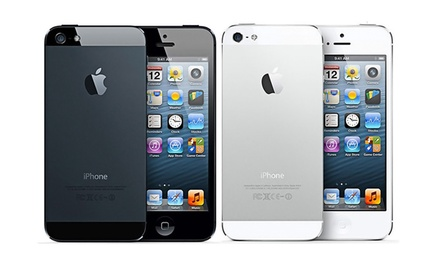 Apple iPhone 4, 4s, 5, or 5s 16GB from $99.99–$399.99 (Refurbished)