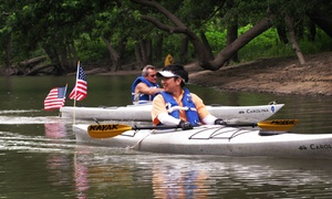 Kayak Morris: Full-Day Kayak Rental with a Beginner Land-Based Lesson for One or Two at Kayak Morris (Up to 53% Off)