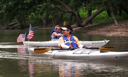 Full-Day Kayak Rental with a Beginner Land-Based Lesson for One or Two at Kayak Morris (Up to 53% Off)