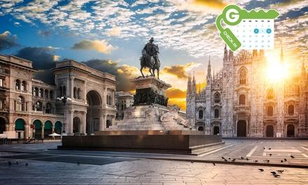 Milán: habitación doble o twin para dos personas con desayuno o media pensión en el Qualys Hotel Nasco 4*