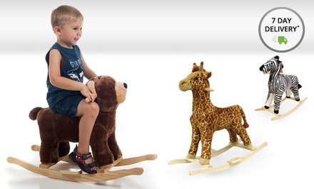 Happy Trails Plush Animal Rockers. Multiple Animals from $55.99–$59.99. Free Returns.