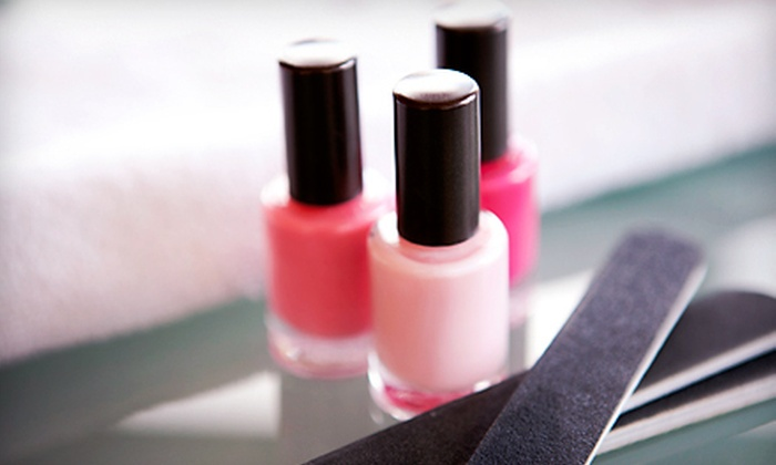 Second Skin Med Spa - Midtown Toronto: Mani-Pedi with Optional Facial, or Shellac Mani-Pedi at Second Skin Med Spa (Up to 64% Off)