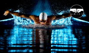 Centro Nuoto Le Bandie: 10 ingressi in piscina per nuoto libero, lezioni di aquafitness o lezioni di nuoto per principianti (sconto fino a 58%)