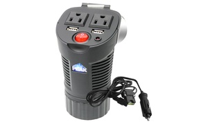 150-watt Cup Holder-shaped Usb And Ac Mobile Power Outlet