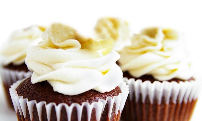 Mimi's Piece of Cake - Yukon: One Dozen or Two Dozen Mini Cupcakes or One Dozen Regular or Jumbo Cupcakes at Mimi's Piece of Cake (Half Off)
