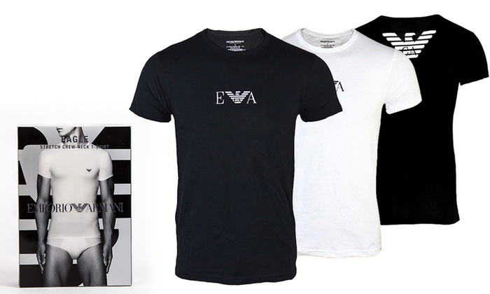 343ebad6 Men's Emporio Armani T-Shirts | Groupon Goods