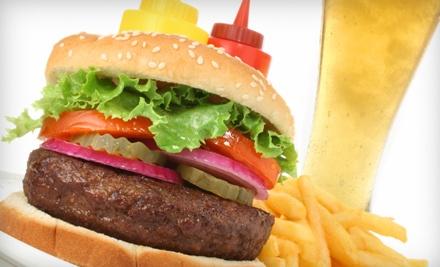 Brock's Bar & Grill: Burger Meal for 2 - Brock's Bar & Grill in Kansas City