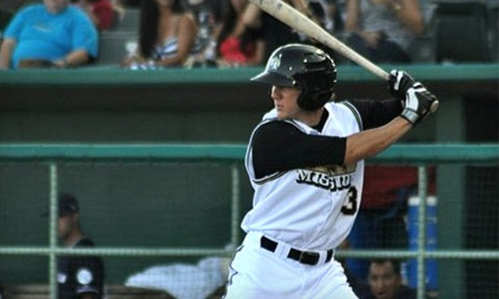 San Antonio Missions - Far West Side: Two Tickets or a Family Fan Experience to San Antonio Missions Baseball