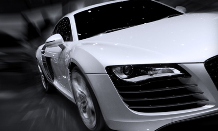 MOB Customs - Las Vegas: Car-Alarm Installation or High-Performance Window Tinting for Five Windows or Both at Mob Customs. Three Options Available.