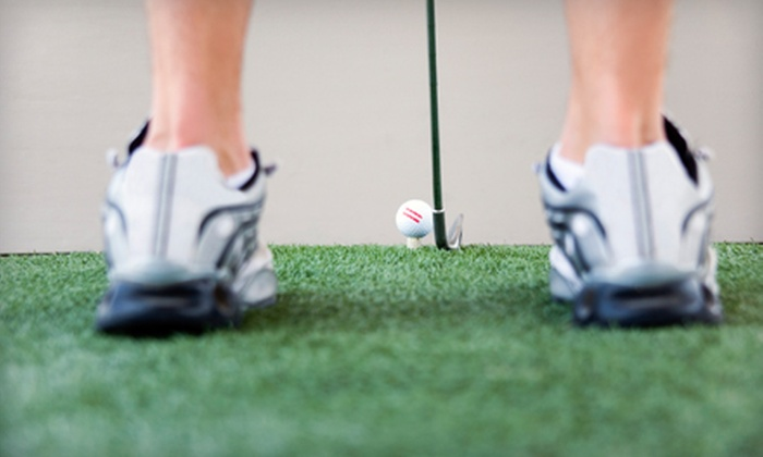 Scratch Golf - Multiple Locations: $20 for a 75-Minute Golf Training Session at Scratch Golf ($56.25 Value)