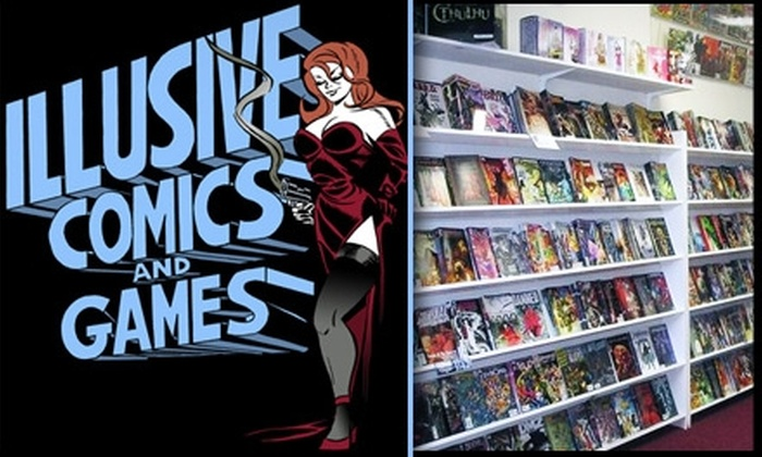 Illusive Comics and Games - Santa Clara: $5 for $12 Worth of Comics, Trading Cards, and More at Illusive Comics and Games