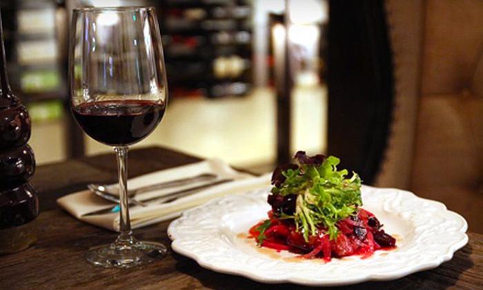 Tirovino Wine Bar - Melrose: Italian Dinner for Two, Four, or Six at Tirovino Wine Bar (Up to 61% Off)