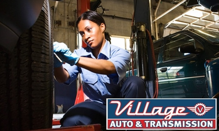 Village Auto & Transmission - Arden Hills - Shoreview: $18 for Oil and Filter Change and 22-Point Inspection at Village Auto & Transmission in Roseville ($89 Value)