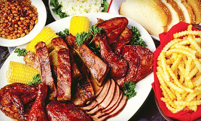 Woody's Bar-B-Q  - Multiple Locations: $8 for $16 Worth of Barbecue Fare at Woody's Bar-B-Q