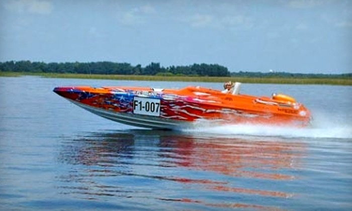 Turbo's Race Boat Rides - St. Cloud: $99 for a Thrill Ride with Turbo's Race Boat Rides in Kissimmee ($199 Value)